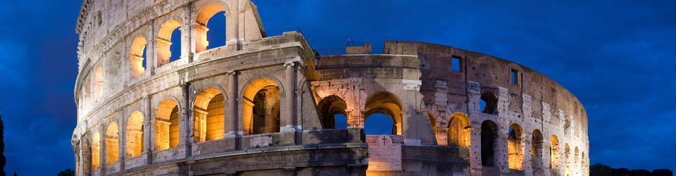 Najsławniejszy amfiteatr - Koloseum