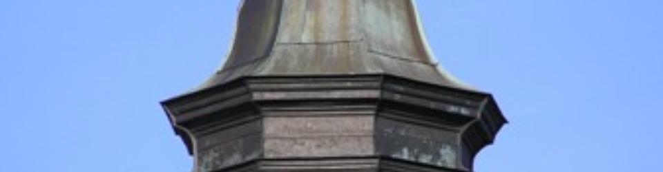 Latarnia kaplicy w zespole pielgrzymkowym w Krośnie